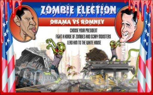 僵尸选举 Zombie Election Obama