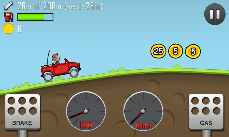 車子爬坡遊戲- BuzChe