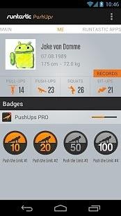 【免費健康App】俯卧撑锻炼 Runtastic Push-Ups PRO-APP點子