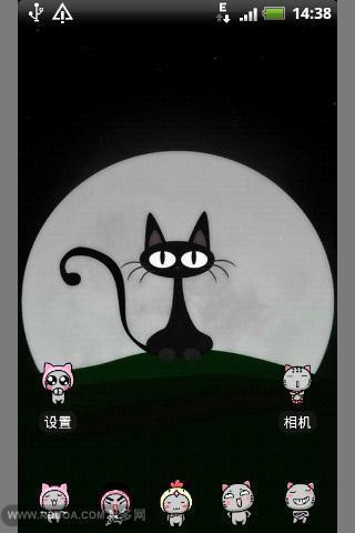 可爱猫咪-桌面主题