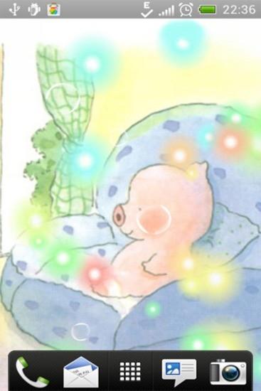 梦幻小猪动态壁纸