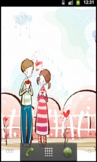 浪漫爱情动态壁纸