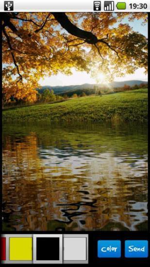 水反射效果照片