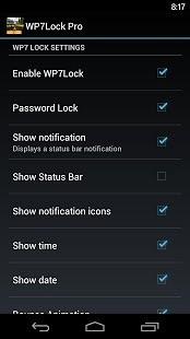 WP7锁屏