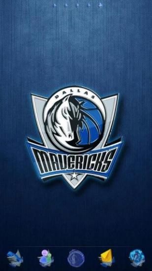 GO主题-NBA小牛队徽