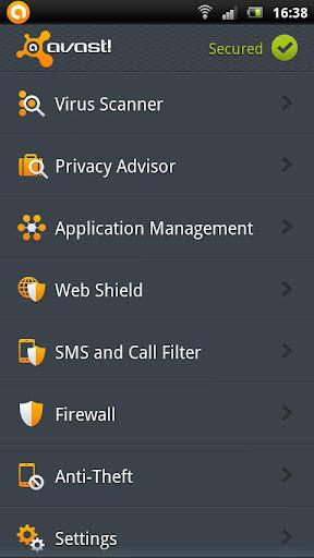 avast 手机安全