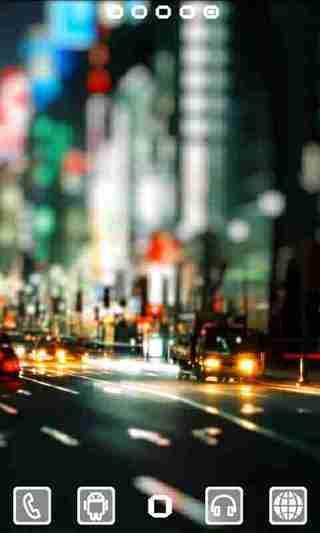 城市夜景 GO桌面EX