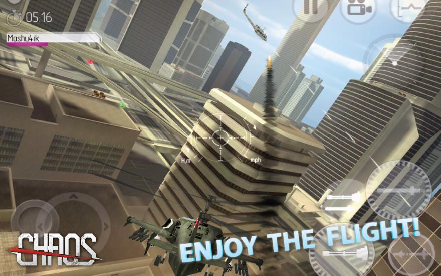 射擊必備免費app推薦|直升机空战 | C.H.A.O.S線上免付費app下載|3C達人阿輝的APP