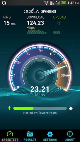 手机网速测试