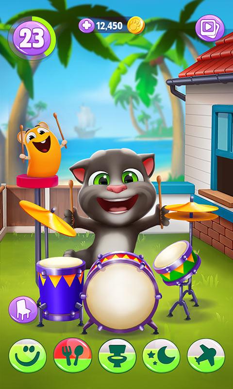 我的汤姆猫2游戏截图