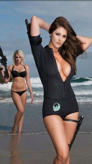 army bikini