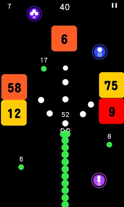 球球与白块游戏截图