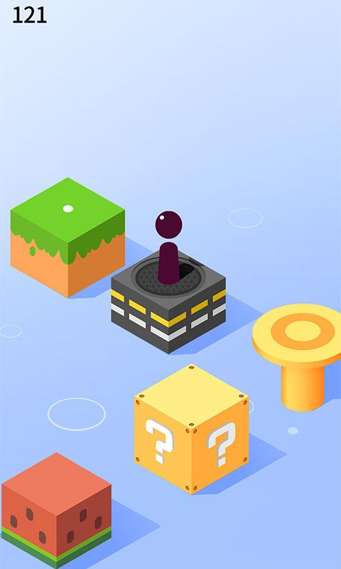 跳跳跳方块游戏截图
