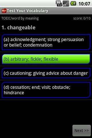 Test Your Vocabulary|玩娛樂App免費|玩APPs