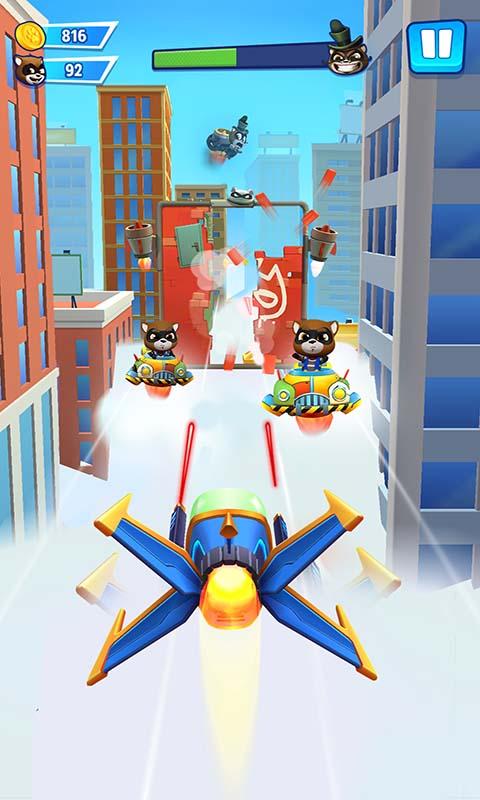 汤姆猫英雄跑酷游戏截图