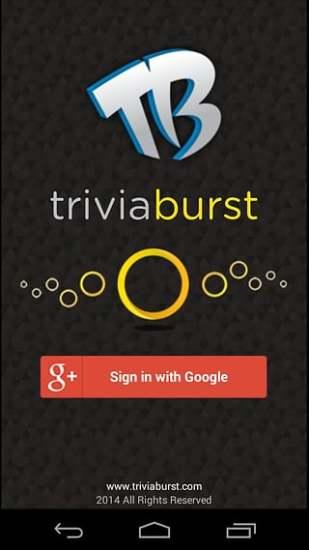 玩免費休閒APP|下載TriviaBurst app不用錢|硬是要APP