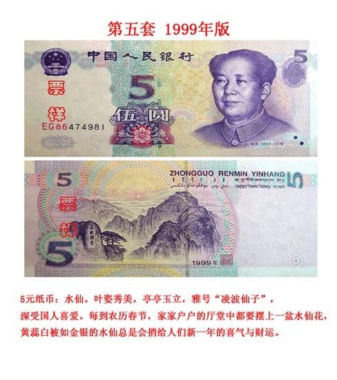 人民币鉴赏(共五套)
