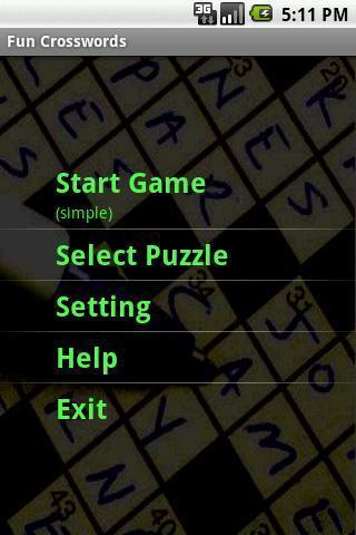 有趣的填字游戏