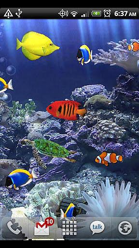 唯美水族馆动态壁纸 Aquarium Live Wallpaper