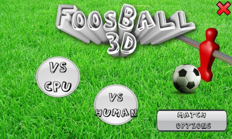 玩免費休閒APP|下載3D桌式足球 Foosball 3D app不用錢|硬是要APP
