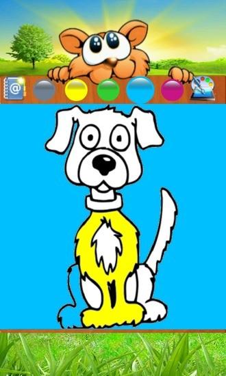 狗狗涂鸦(Dog Coloring Game)