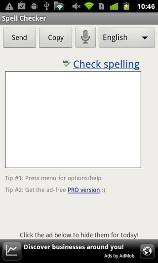 拼写检查器