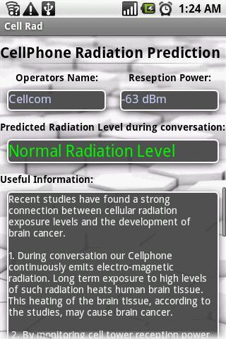手机辐射预测