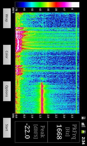 声音波谱查看分析仪