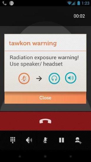 tawkon手机辐射报警器