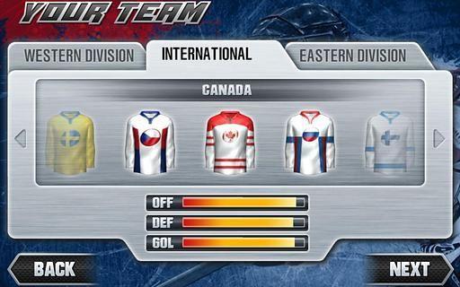 冰球联赛2011Tegra版