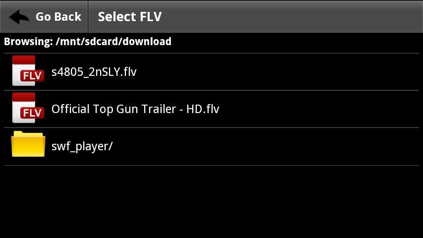 FLV視頻播放器