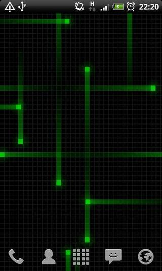 Nexus炫彩轨迹动态壁纸