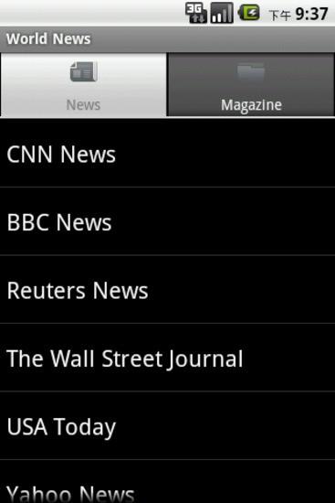 世界新闻 World News
