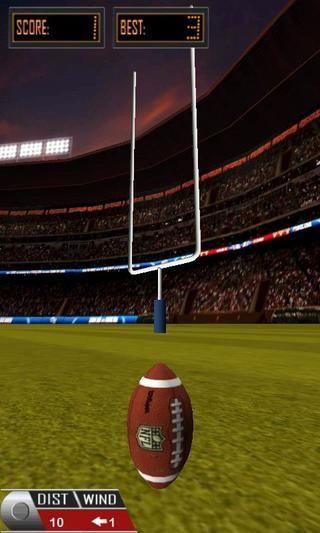 橄榄球射门 3D Flick Field Goal