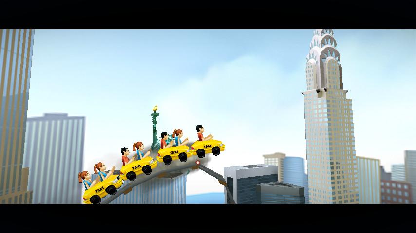 3D纽约过山车