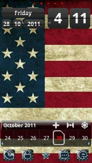 美国国旗【GO桌面主题】