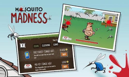 蚊子也疯狂 玩休閒App免費 玩APPs