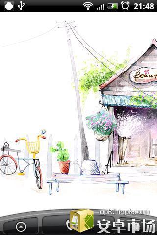 手绘春意主题动态壁纸