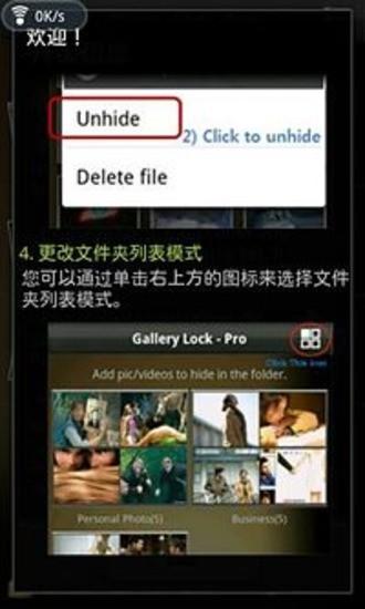 Gallery Lock Pro 中国的