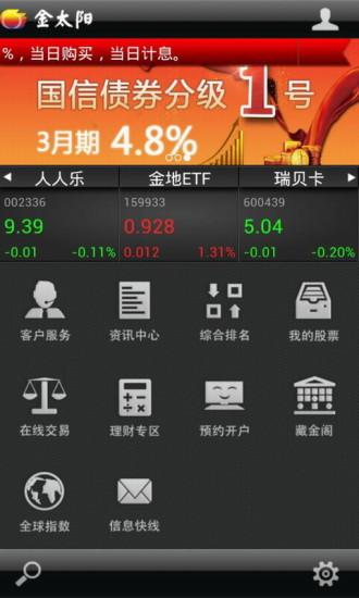 金太阳手机炒股