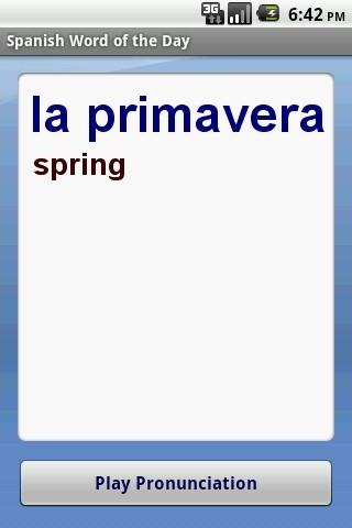 每日西班牙语