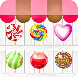 糖果泡泡龙儿童游戏图标