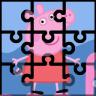 小猪佩奇拼图 - 233小游戏