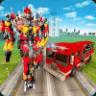 Robot Fire Truck War