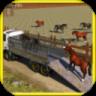 Wild Animal Transport Truck 3D