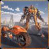 Flying Bike Transformer Robot