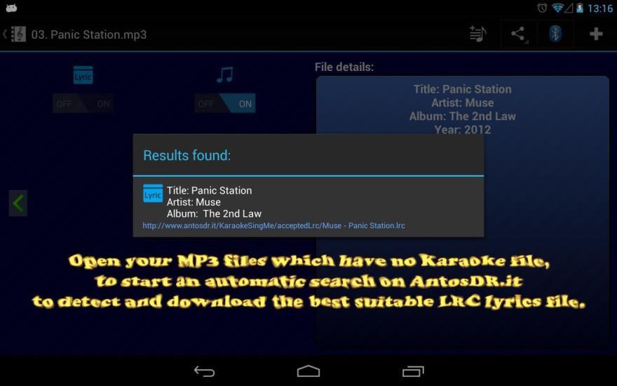 Karaoke - Sing Me (Free)