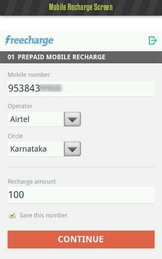 FreeCharge - Mobile Recharge