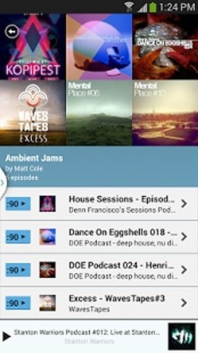 PodOmatic Podcast Player