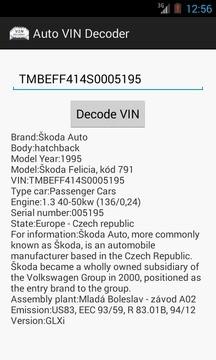 Auto VIN Decoder 官方